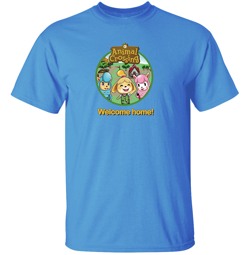 Welcome Home - Animal Crossing T-Shirt