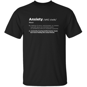 Anxiety - Video Game T-Shirt