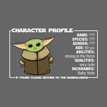 Load image into Gallery viewer, Baby Yoda - Star Wars: The Mandalorian T-Shirt