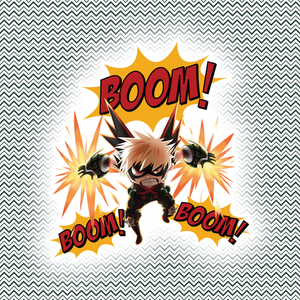 Bakugo – My Hero Academia Sticker