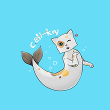 Load image into Gallery viewer, Cali-koi - Cute Cat Pun T-Shirt