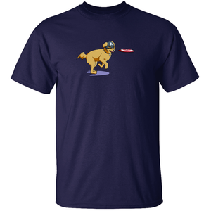 Captain Dog - Captain America T-Shirt