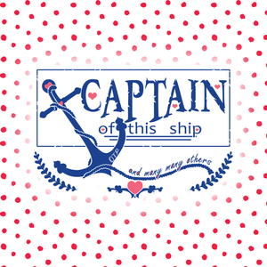 Captain – Fandom Sticker