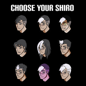 Choose Your Shiro - Voltron Legendary Defender