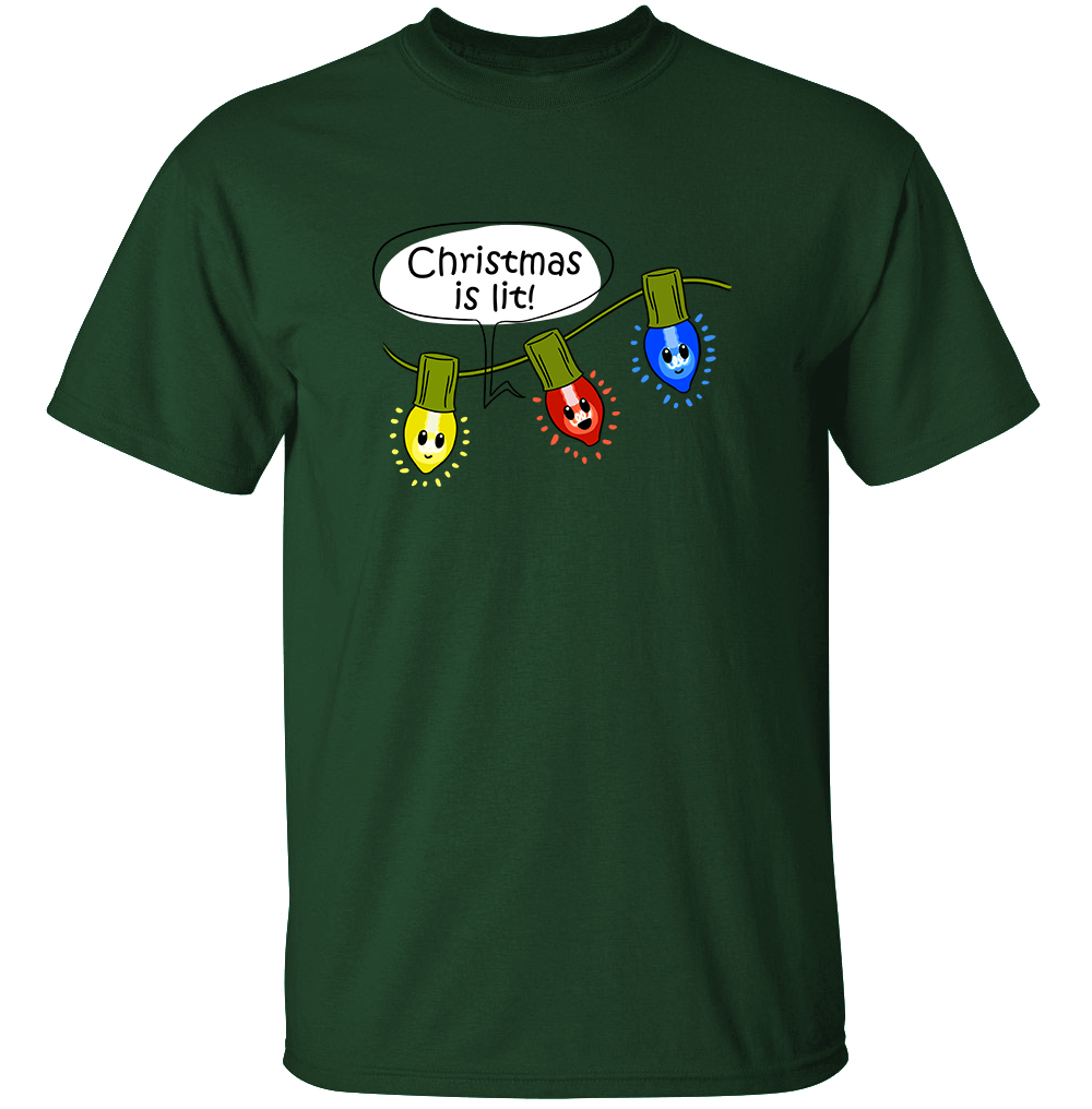 Christmas Lights - Holiday Pun T-Shirt