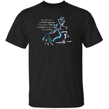 "Load image into Gallery viewer, ""Dream That You Wish"" - Cinderella Quote T-Shirt"