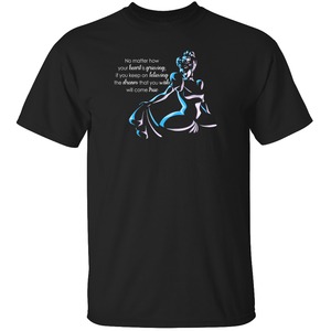 """Dream That You Wish"" - Cinderella Quote T-Shirt"