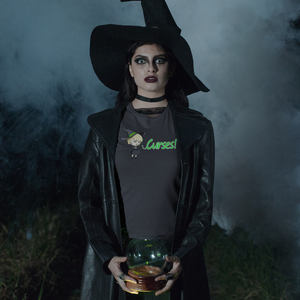 Curses! - Witch Pun T-Shirt