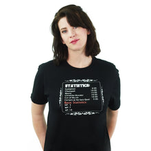 Load image into Gallery viewer, True Stats - RPG T-Shirt