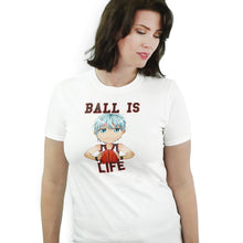 Load image into Gallery viewer, Ball is Life - Kuroko No Basket T-Shirt