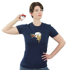 Rudolph the Red-Nosed Stantler - Pokemon Christmas T-Shirt