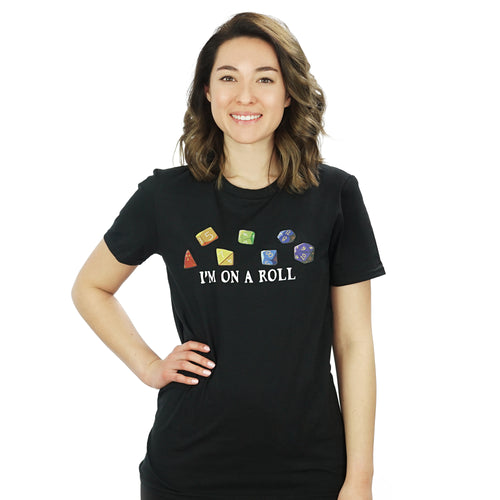 Rainbow Dice T Shirt by TeeRexTee.com