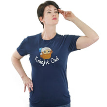 Load image into Gallery viewer, Knight Owl T Shirt from TeeRexTee.com