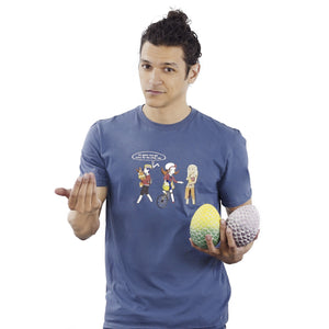 Egg Hatching - Pokemon & Game of Thrones T-Shirt