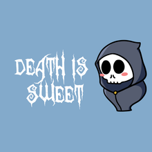 Load image into Gallery viewer, Death is Sweet - Grim Reaper T-Shirt