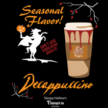Load image into Gallery viewer, Decappuccino - Sleepy Hollow - Halloween T-Shirt