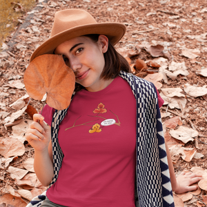 Falling Leaves - Nature Pun T-Shirt