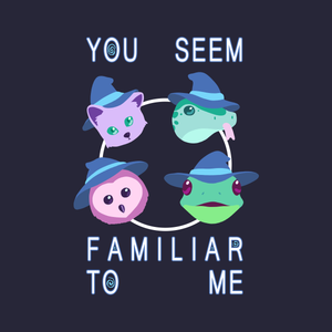 Witch's Familiar - Cute Animal T-Shirt
