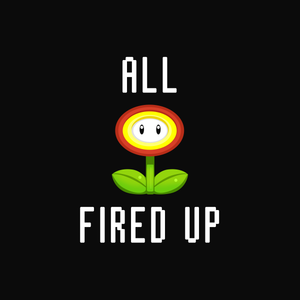 Fired Up - Mario T-Shirt