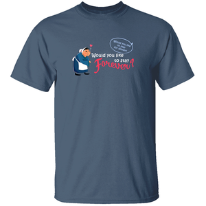 Would You Like to Stay Forever? - Mulan T-Shirt