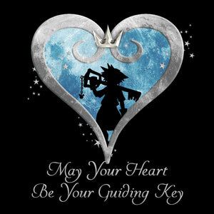 May Your Heart Be Your Guiding Key - Kingdom Hearts T-Shirt