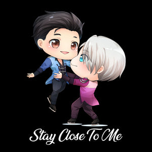 Stay Close to Me- Victuuri from Yuri on Ice T-Shirt