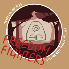 Load image into Gallery viewer, Freedom Fighter - Avatar The Last Airbender T-Shirt