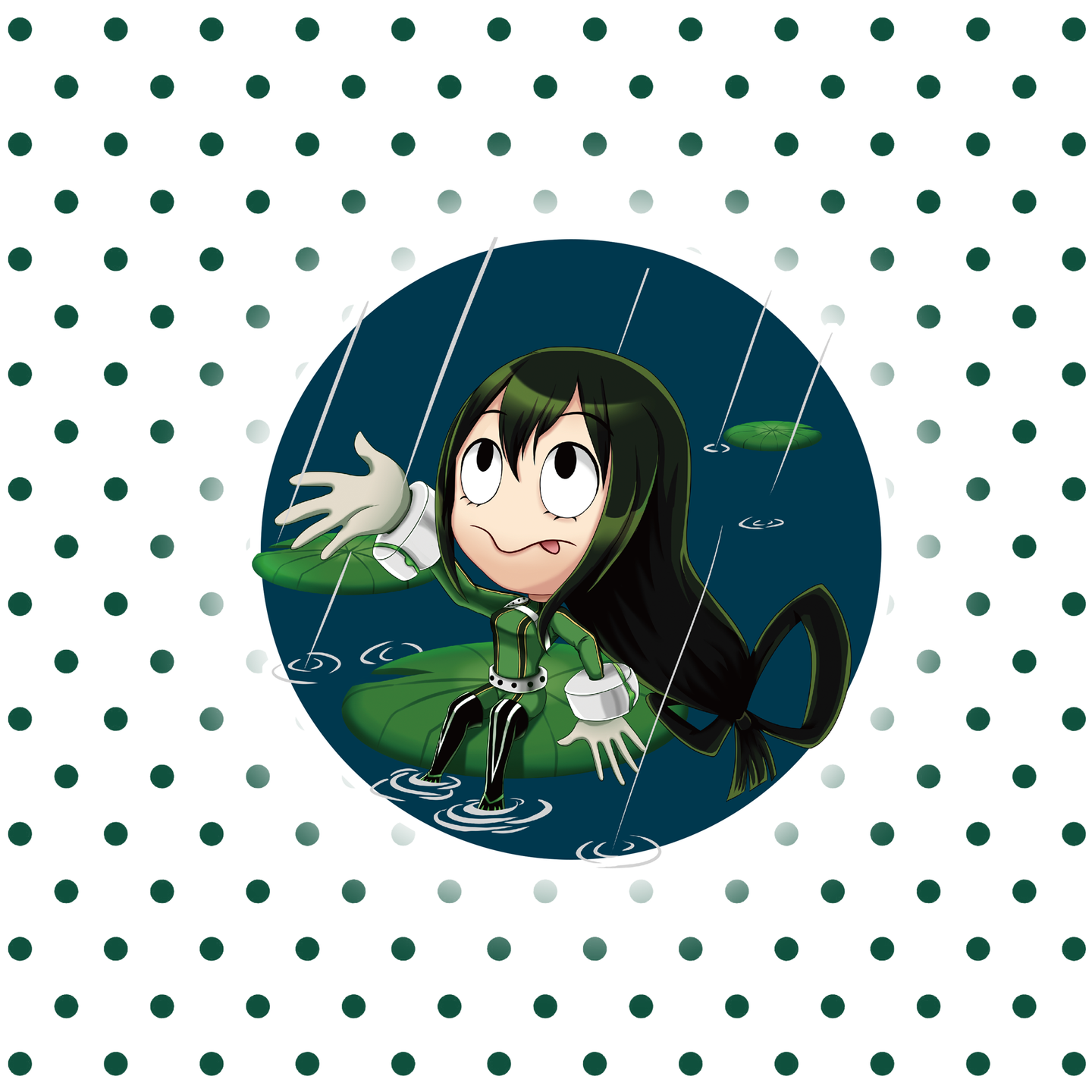 Froppy – My Hero Academia Individual Sticker
