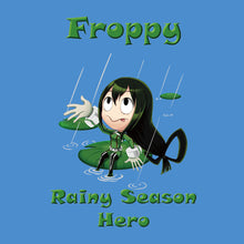Load image into Gallery viewer, Froppy the Rainy Season Hero - My Hero Academia T-Shirt