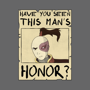 Zuko's Honor - Avatar The Last Airbender T-Shirt