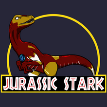 Load image into Gallery viewer, Jurassic Tony Stark - Jurassic Park & Iron Man T-Shirt