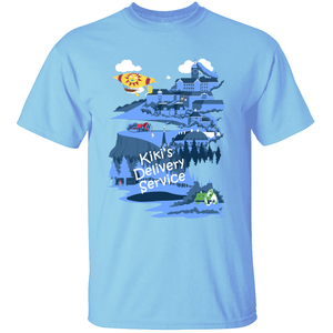 Kiki's City - Kiki's Delivery Service T-Shirt