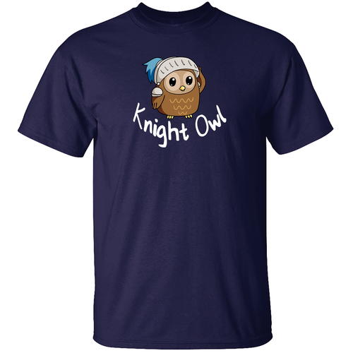 Knight Owl T Shirt from TeeRexTee.com