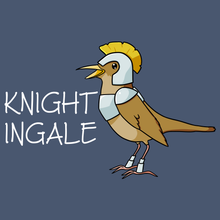 Load image into Gallery viewer, Knightingale - Unique T Shirt from TeeRexTee.com