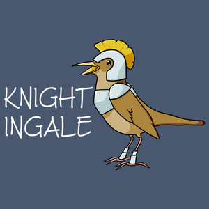Knightingale - Unique T Shirt from TeeRexTee.com