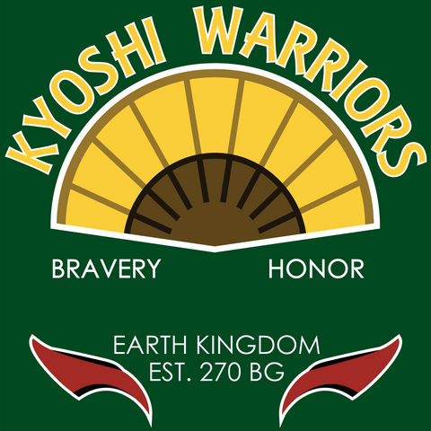 Kyoshi Warriors - Avatar The Last Airbender