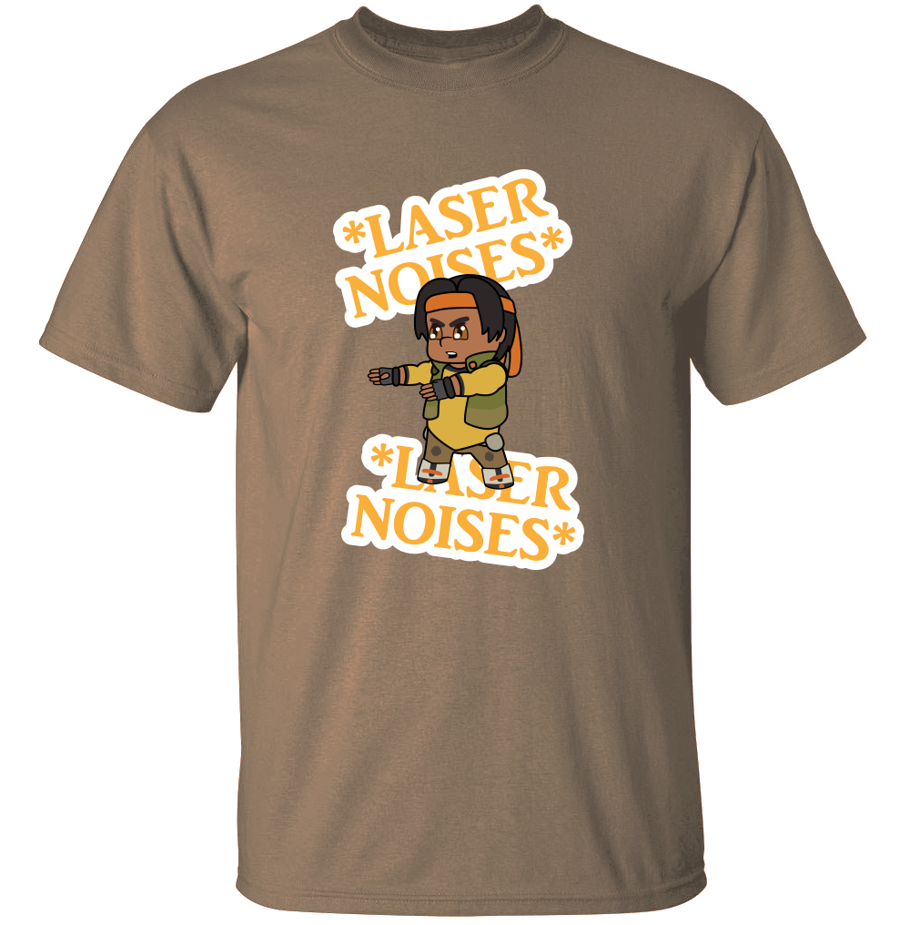 Laser Sounds: Hunk Edition - Voltron: Legendary Defender T-Shirt