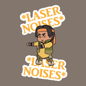 Laser Sounds: Hunk Edition