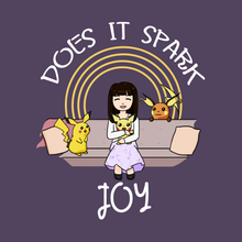 Load image into Gallery viewer, Does It Spark Joy - Marie Kondo's Pokemon T-Shirt