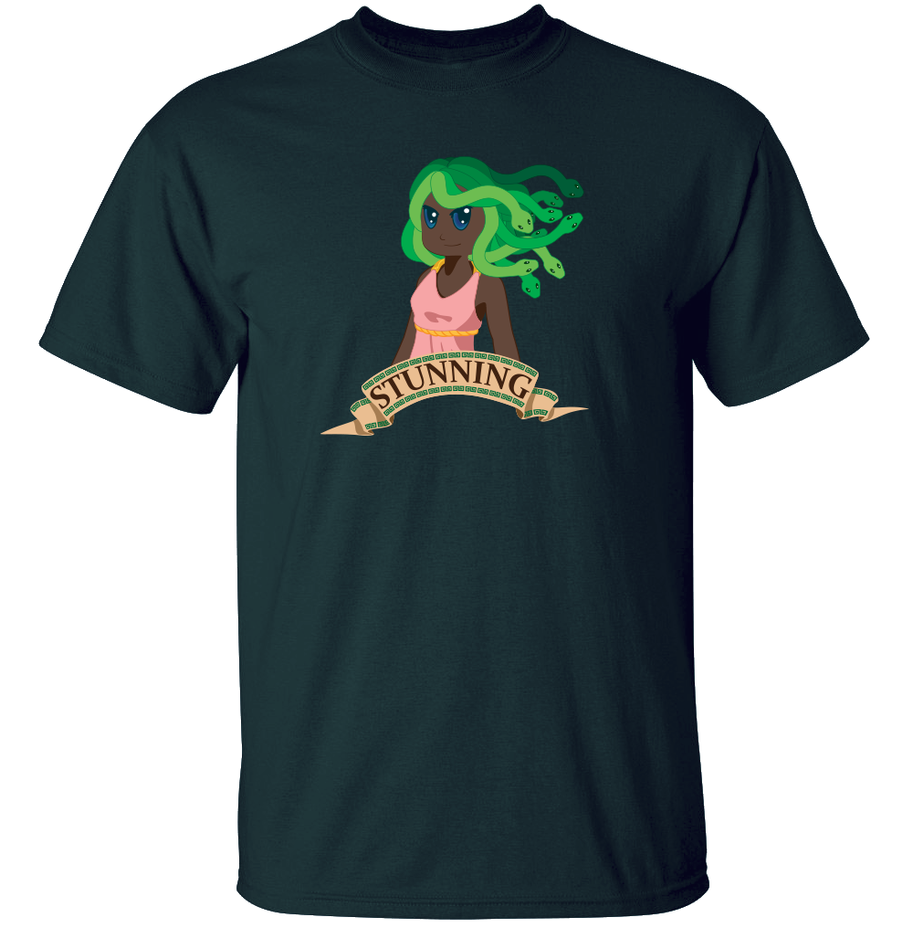 Medusa's Looks - Greek Mythology T Shirt