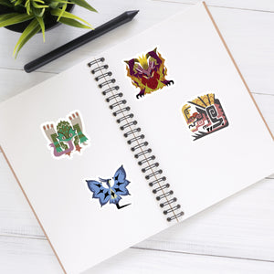 Monster Hunter - Video Game Sticker Half Sheet