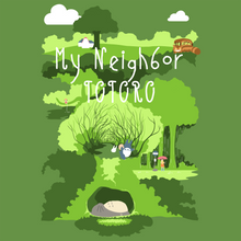 Load image into Gallery viewer, Totoro's Glen - My Neighbor Totoro T-Shirt
