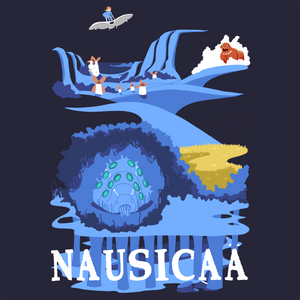Nausicaa's Valley - Studio Ghibli T-Shirt