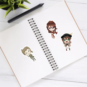 Octopath Traveler - Video Game Sticker Half Sheet