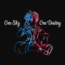 Load image into Gallery viewer, One Sky, One Destiny - Kingdom Hearts T-Shirt