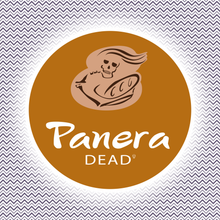 Load image into Gallery viewer, Panera Dead - Parody Halloween Individual Sticker