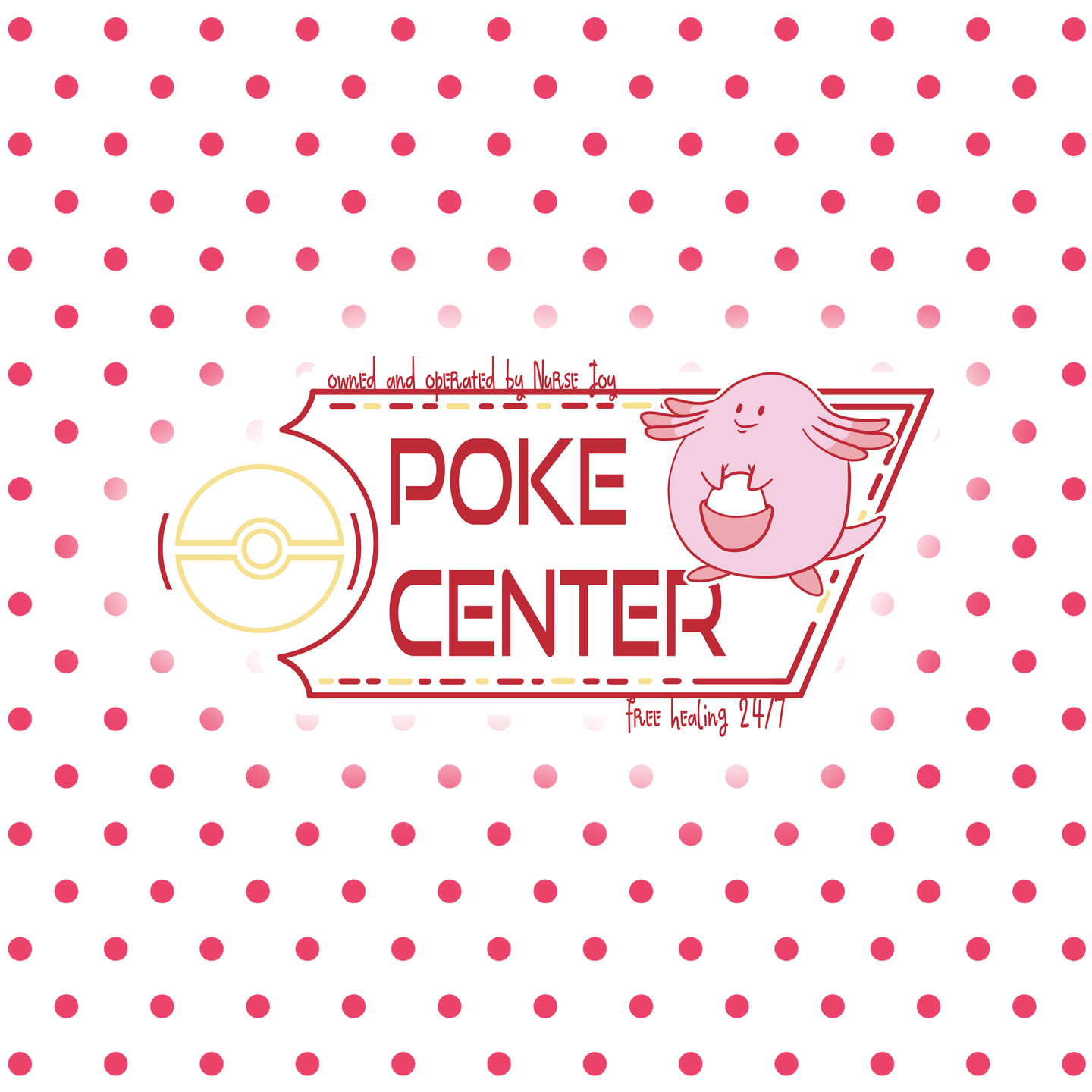 PokeCenter - Pokemon Individual Sticker