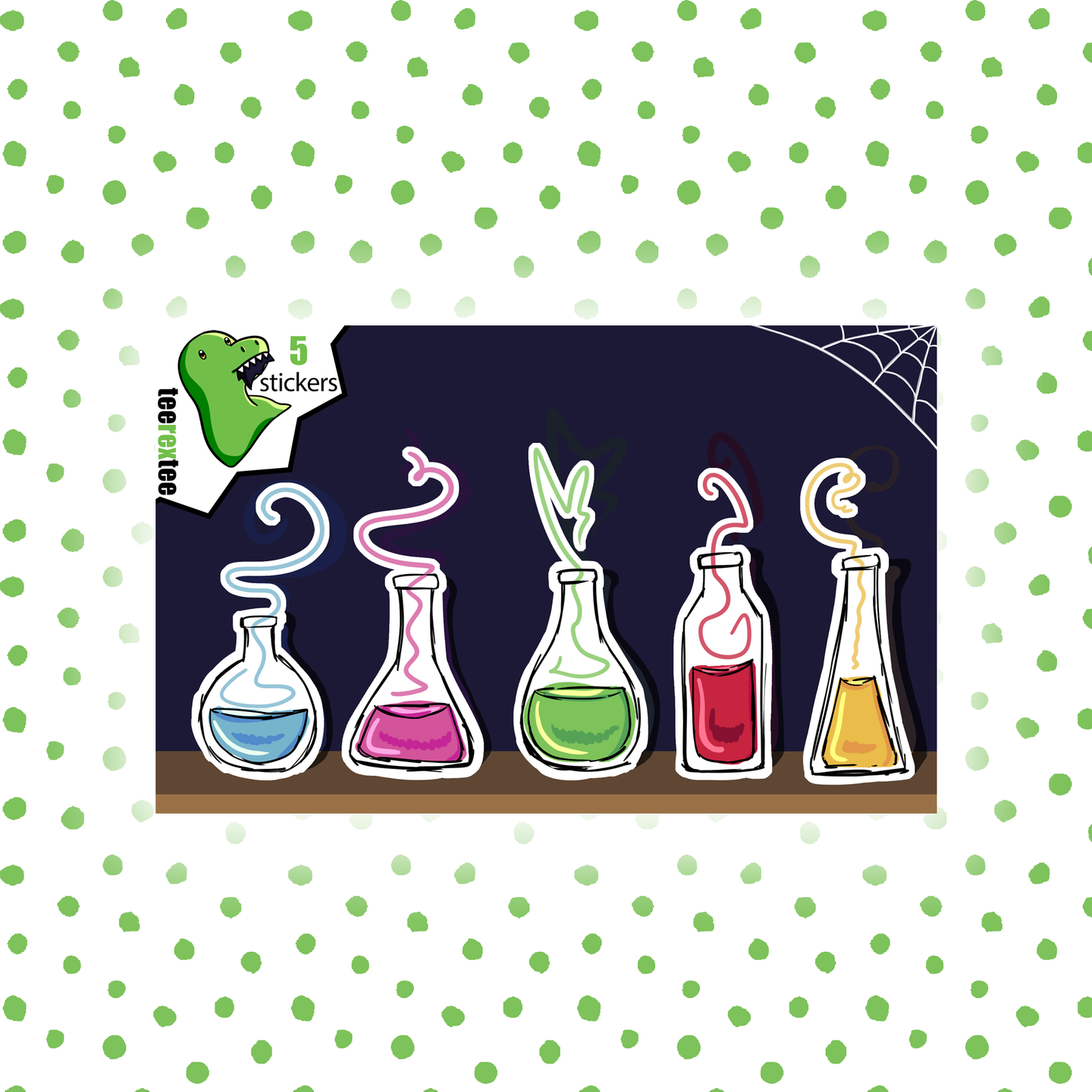 Potions - Fantasy Sticker Half Sheet