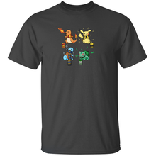 Load image into Gallery viewer, Hogwarts Starters - Harry Potter & Pokemon T-Shirt