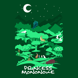 Princess Mononoke Shirt from TeeRexTee.com